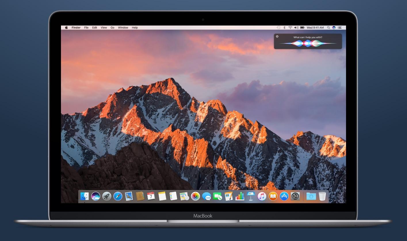 Siri on macOS Sierra