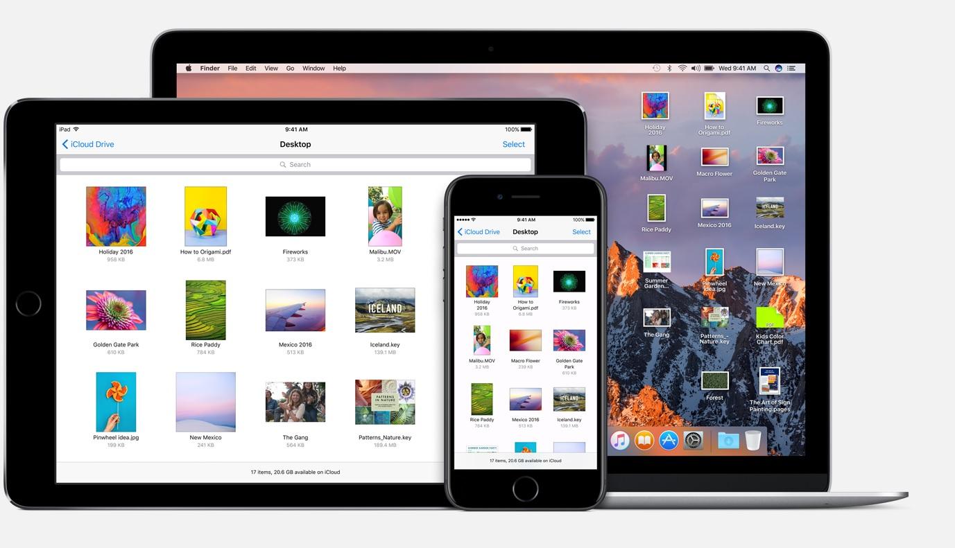 macOS Sierra and iOS 10