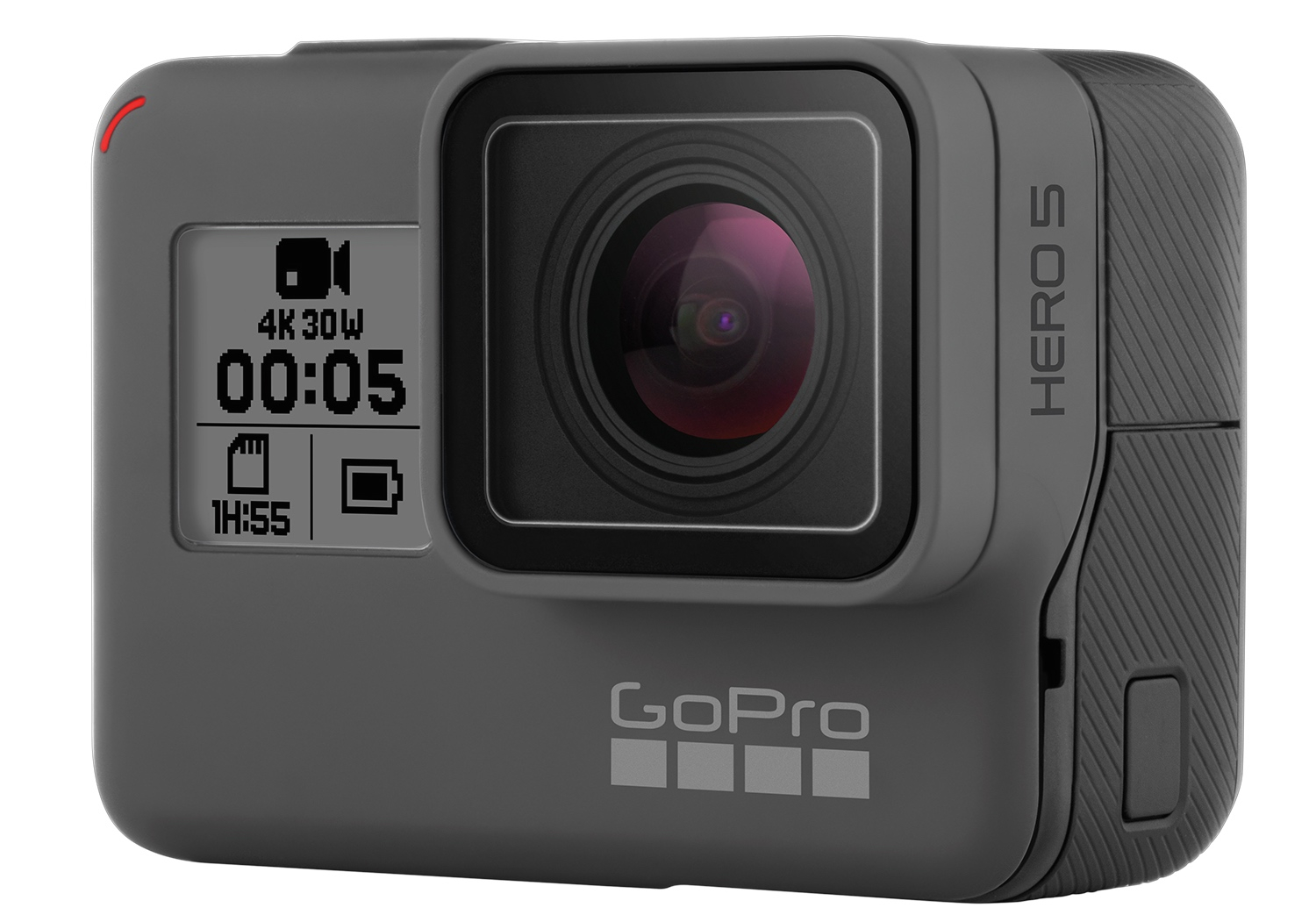 ... new GoPro Hero 5 Black is waterproof to 10 metres without a case GoPro
