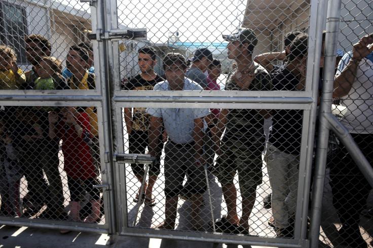 Refugees inMoria