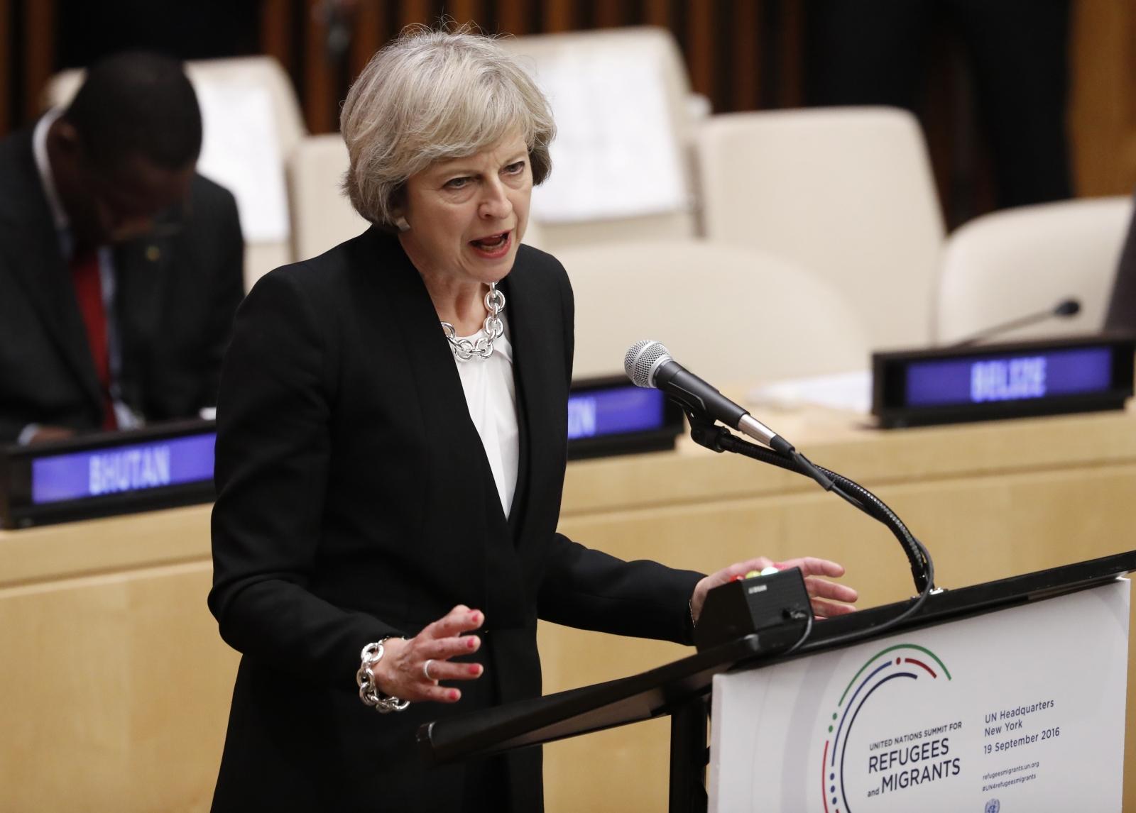Theresa May slavery