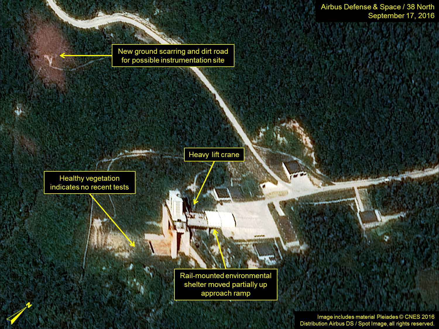 North Korea rocket launch site