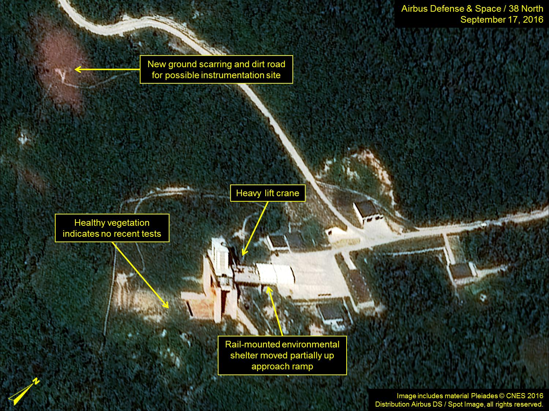 North Korea rocket launch site