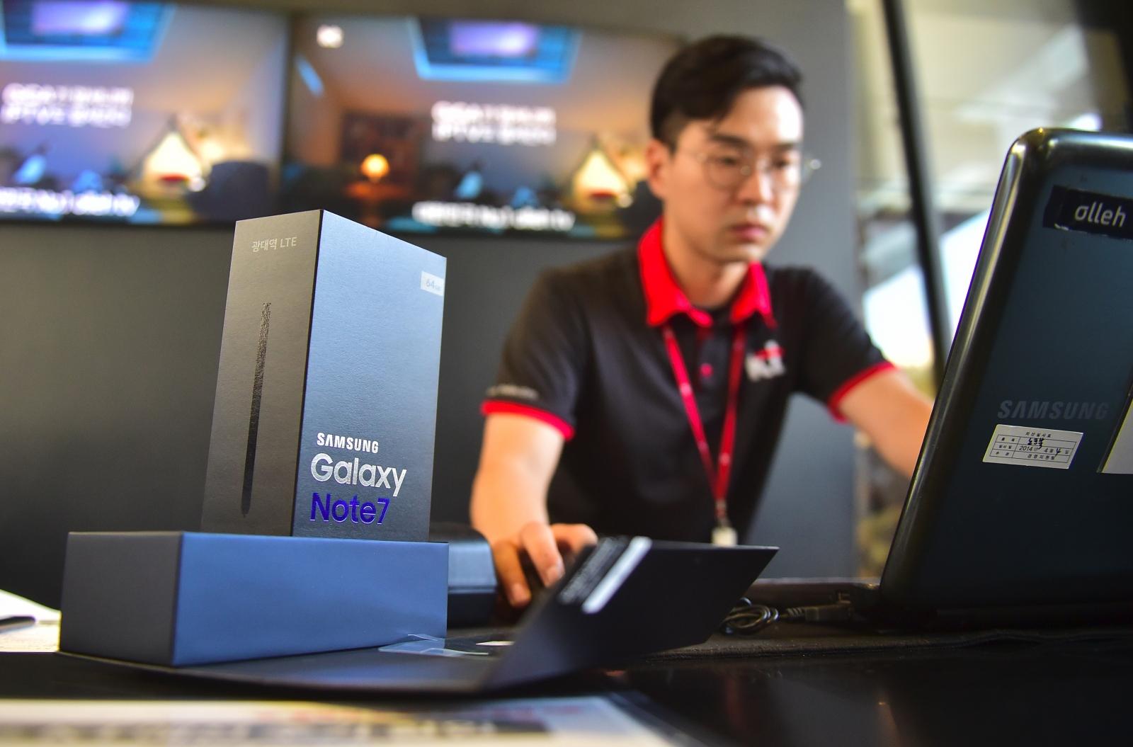 Galaxy Note 7 UK Exchange Programme
