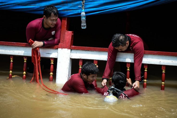 Thailand boat crash