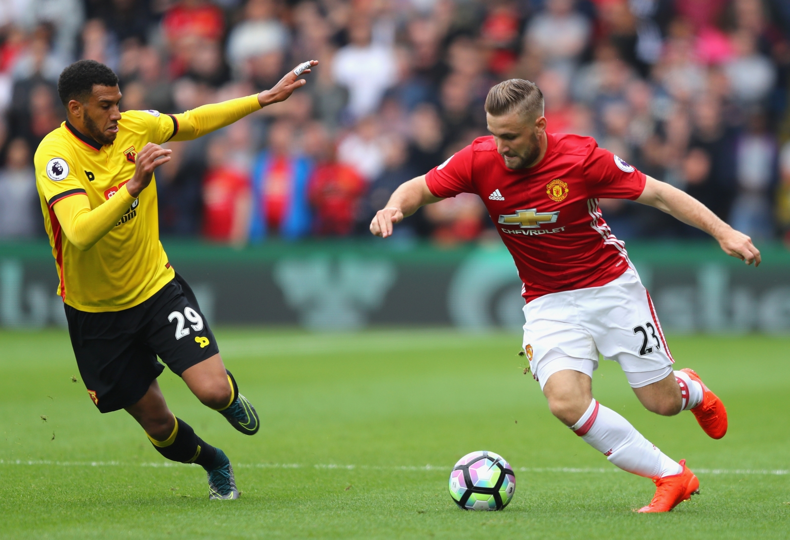 Manchester United News: Luke Shaw Unhappy With Jose