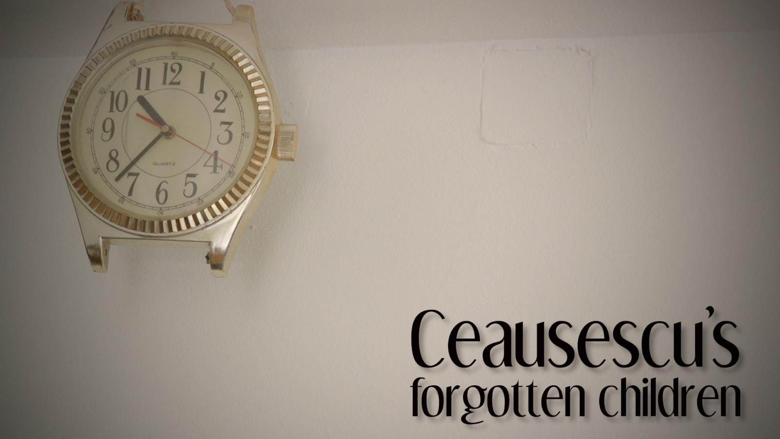 Ceausescu's forgotten children