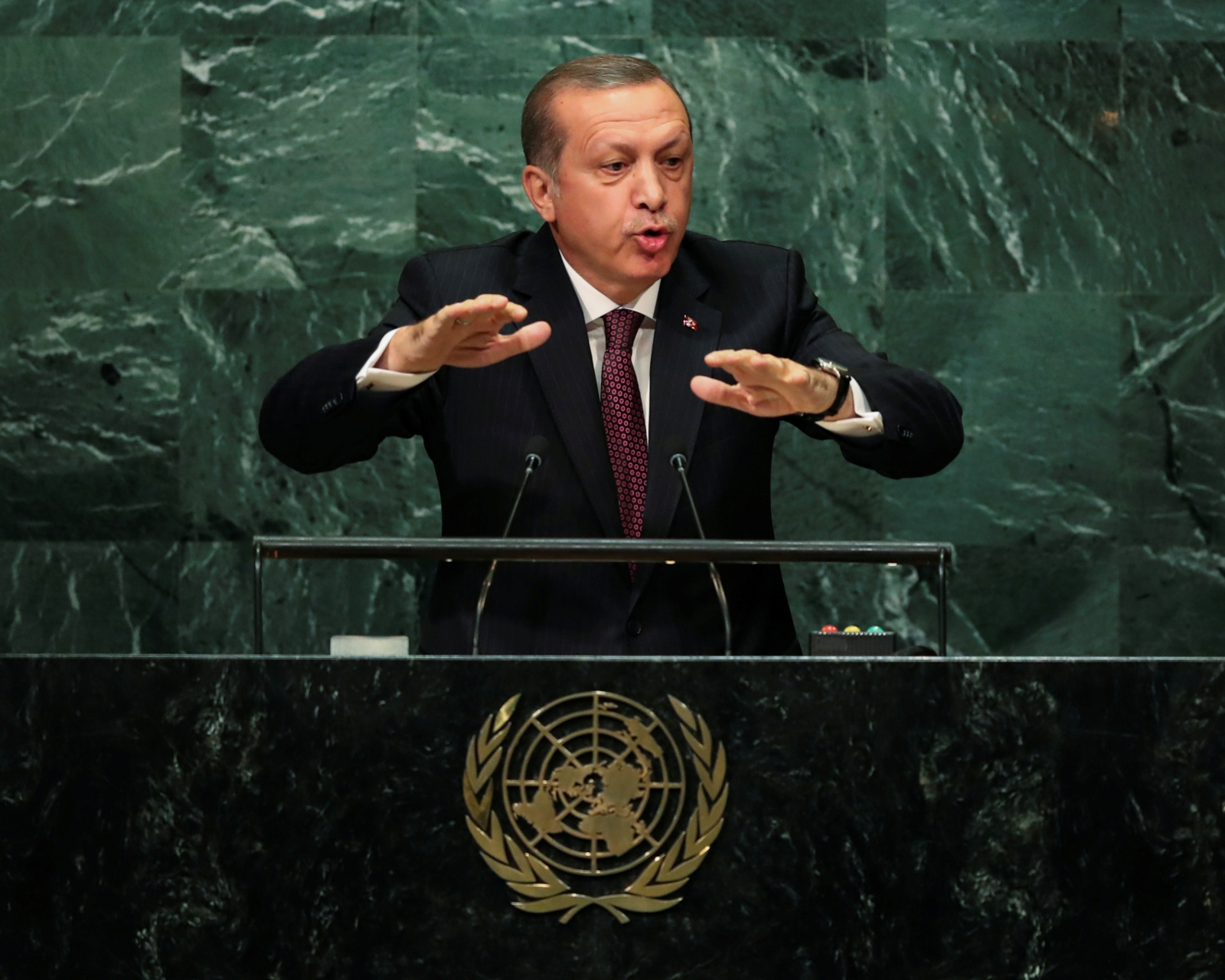 Turkey Erdogan UN General Asembly