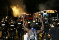 police shooting protest in charlotte