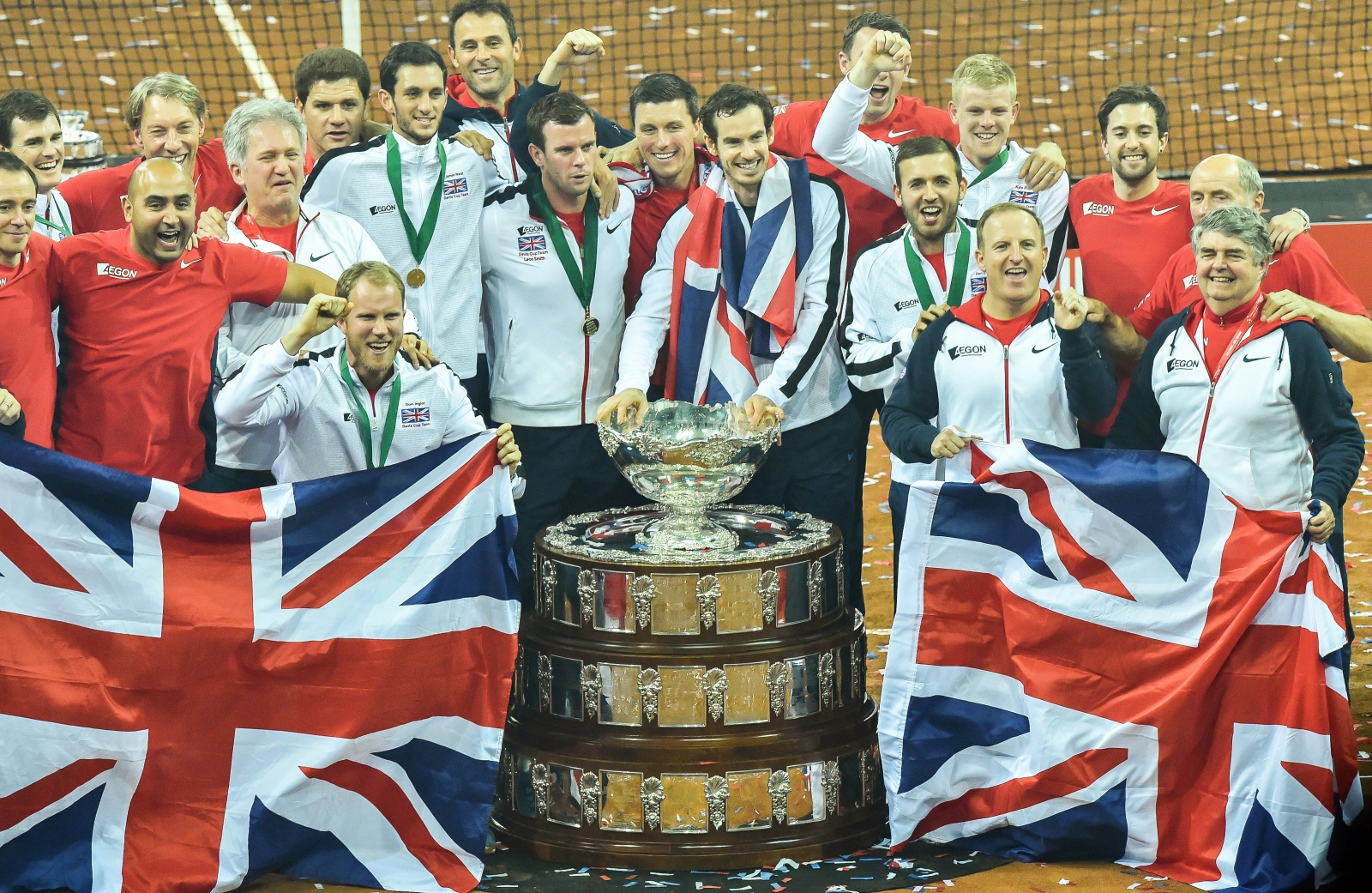 Britain won the Davis Cup in 2015