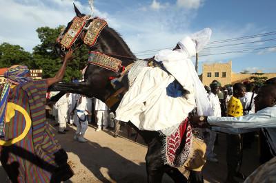 Durbar festival Zaria Nigeria