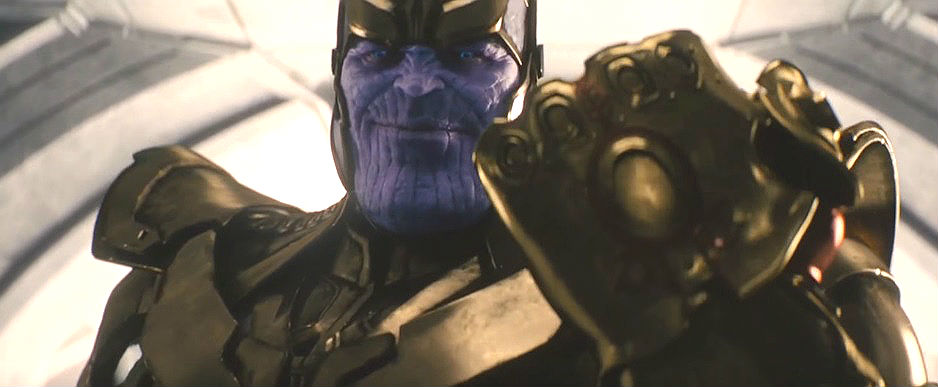 Thanos in Avengers: Age Of Ultron