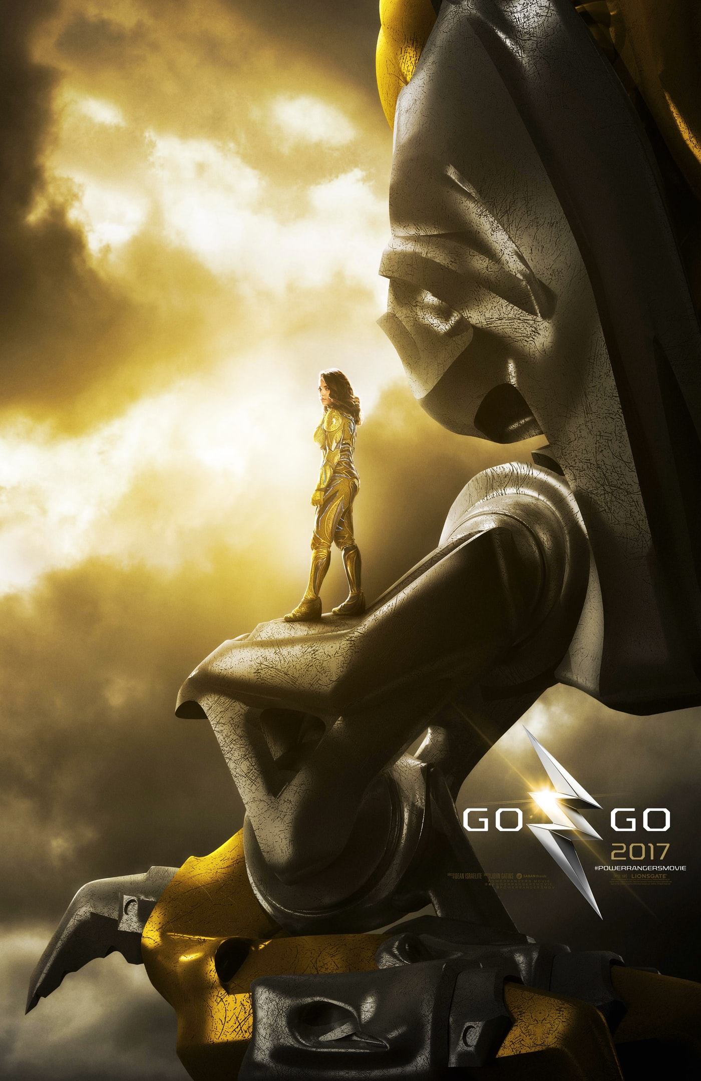 Power Rangers character posters