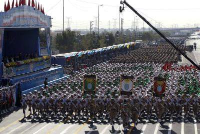 Iran missles parade