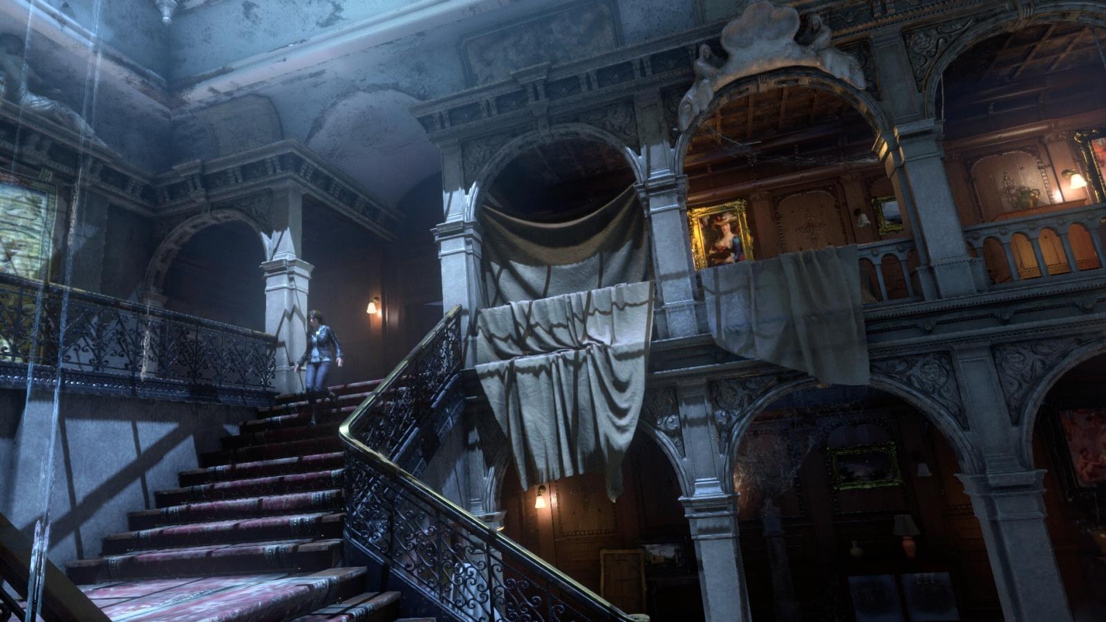 Rise of the Tomb Raider Croft Manor