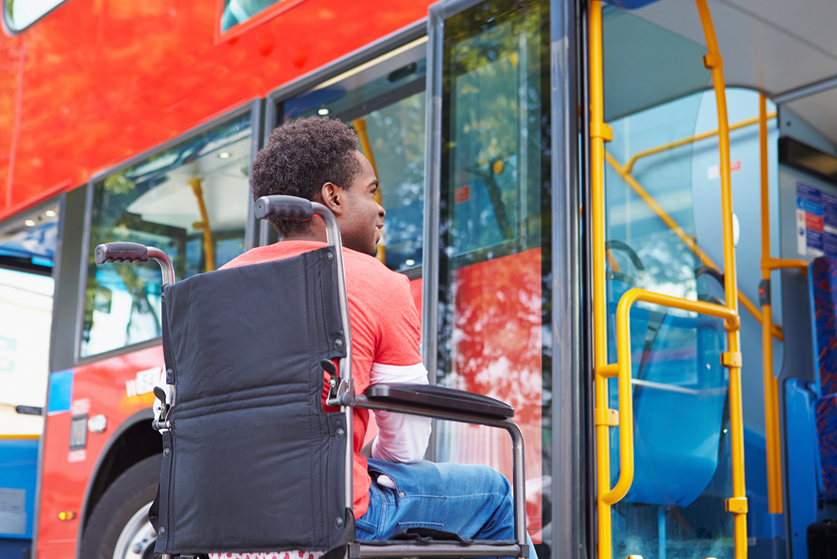 Public transport disability