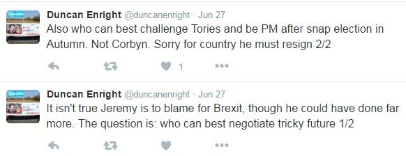 Duncan Enright's Tweets
