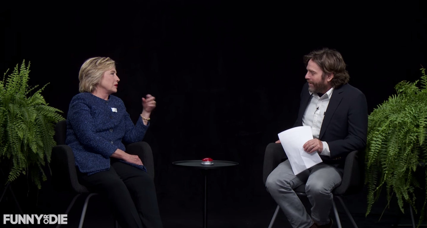 Clinton on Between Two Ferns