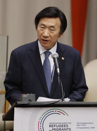 South Korean Minister for Foreign Affairs Yun Byung-se