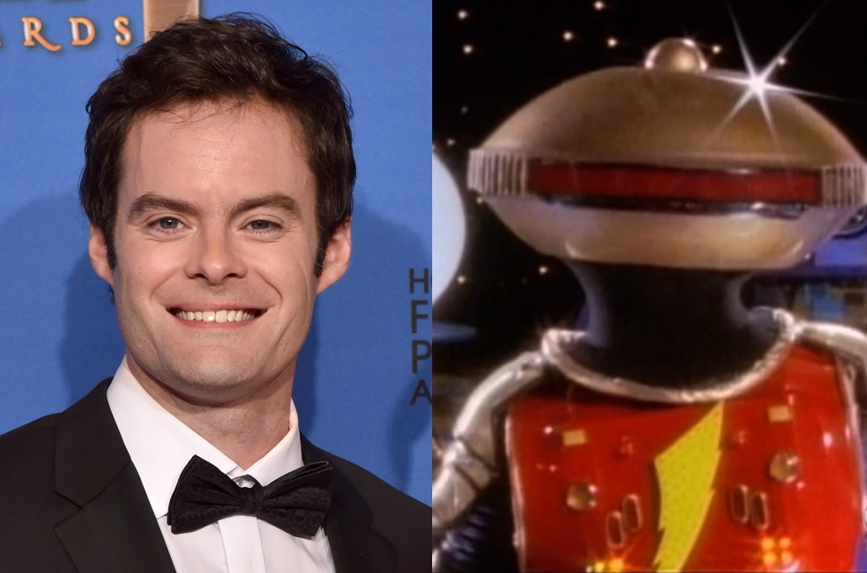 Bill Hader to voice Alpha 5