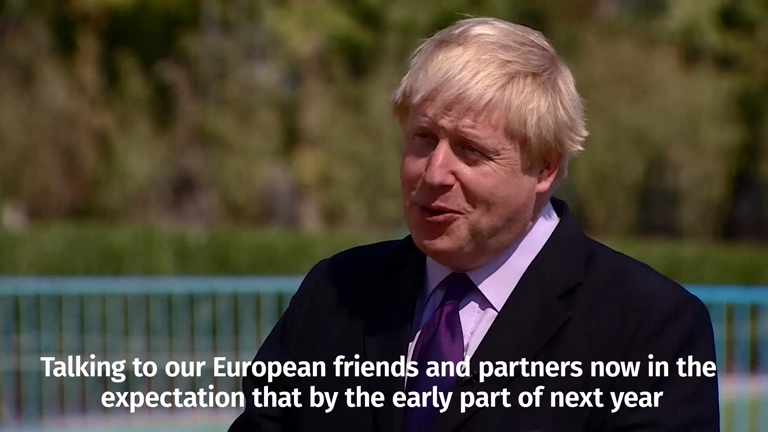Boris Johnson says Brexit Article 50 could be triggered early 2017