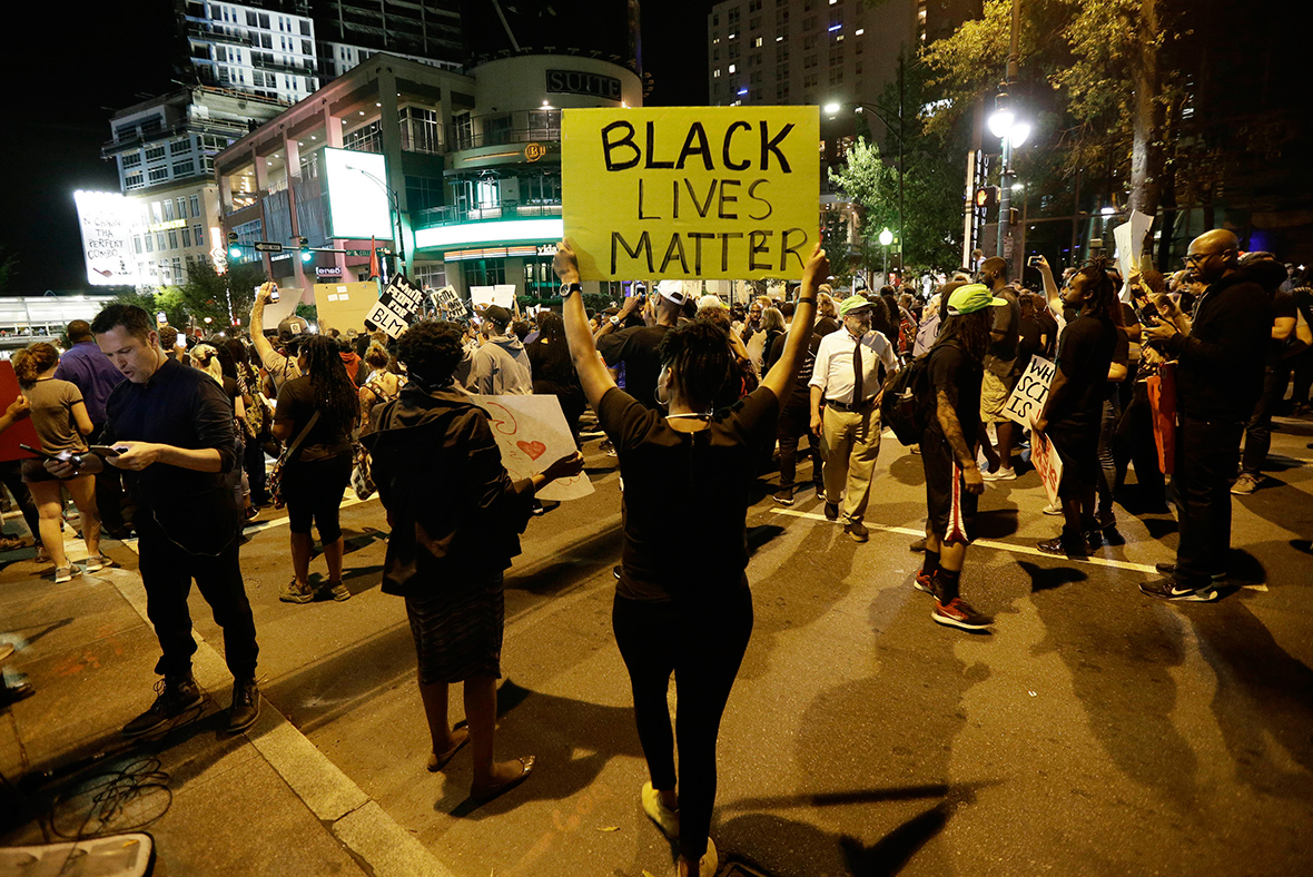 Charlotte North Carolina protests