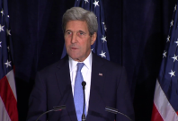 'Disappointed' John Kerry says political solution in Syria is the only path to peace