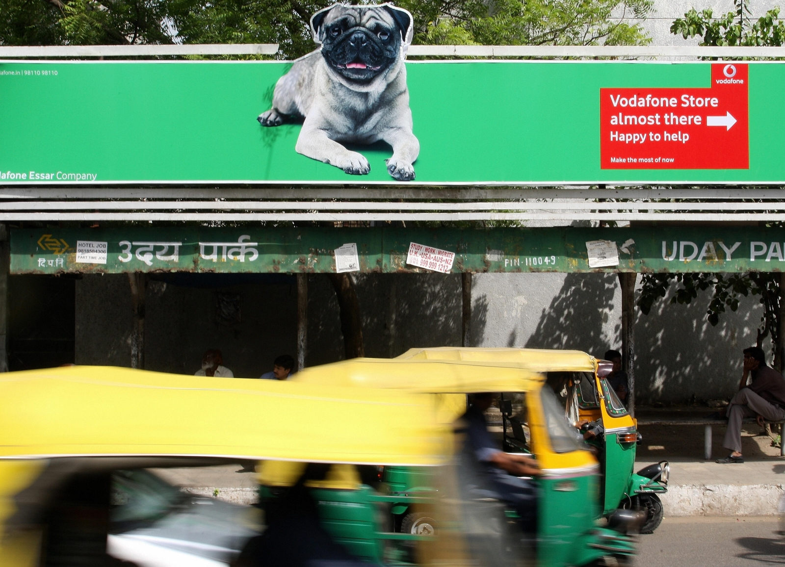 Vodafone invests more than £5bn in its Indian subsidiary to take on rivals ahead of an airwaves auction