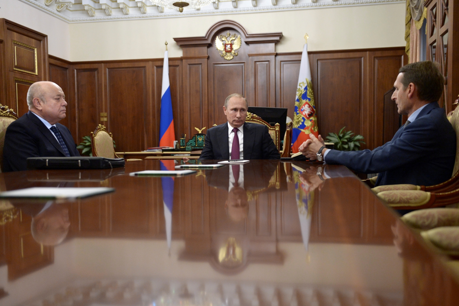 Putin appoints Naryshkin SVR chief