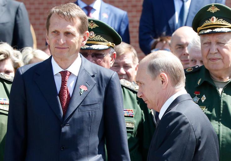 Naryshkin Putin