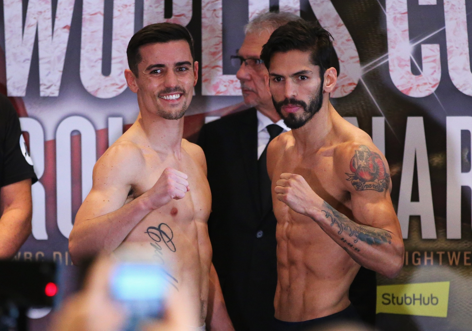 Anthony Crolla and Jorge Linares