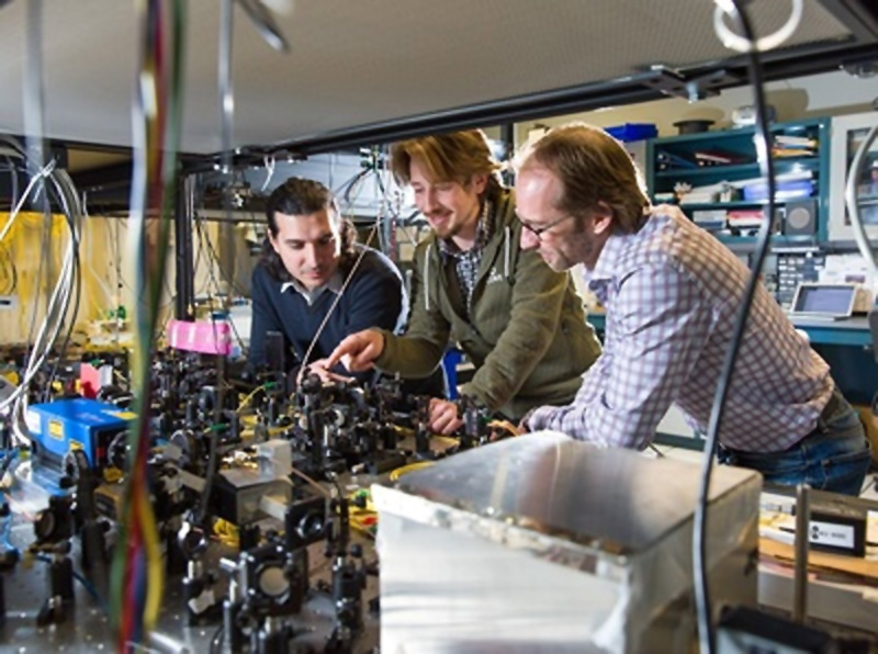 Teleporting a particle of light across fibreoptics