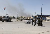 Tikrit checkpoint