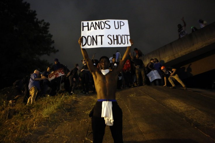 Protesters in Charlotte