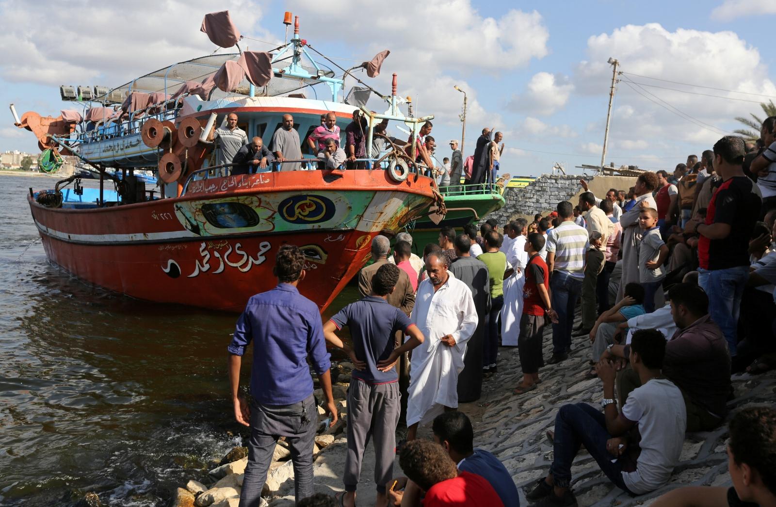 Egypt migrant boat