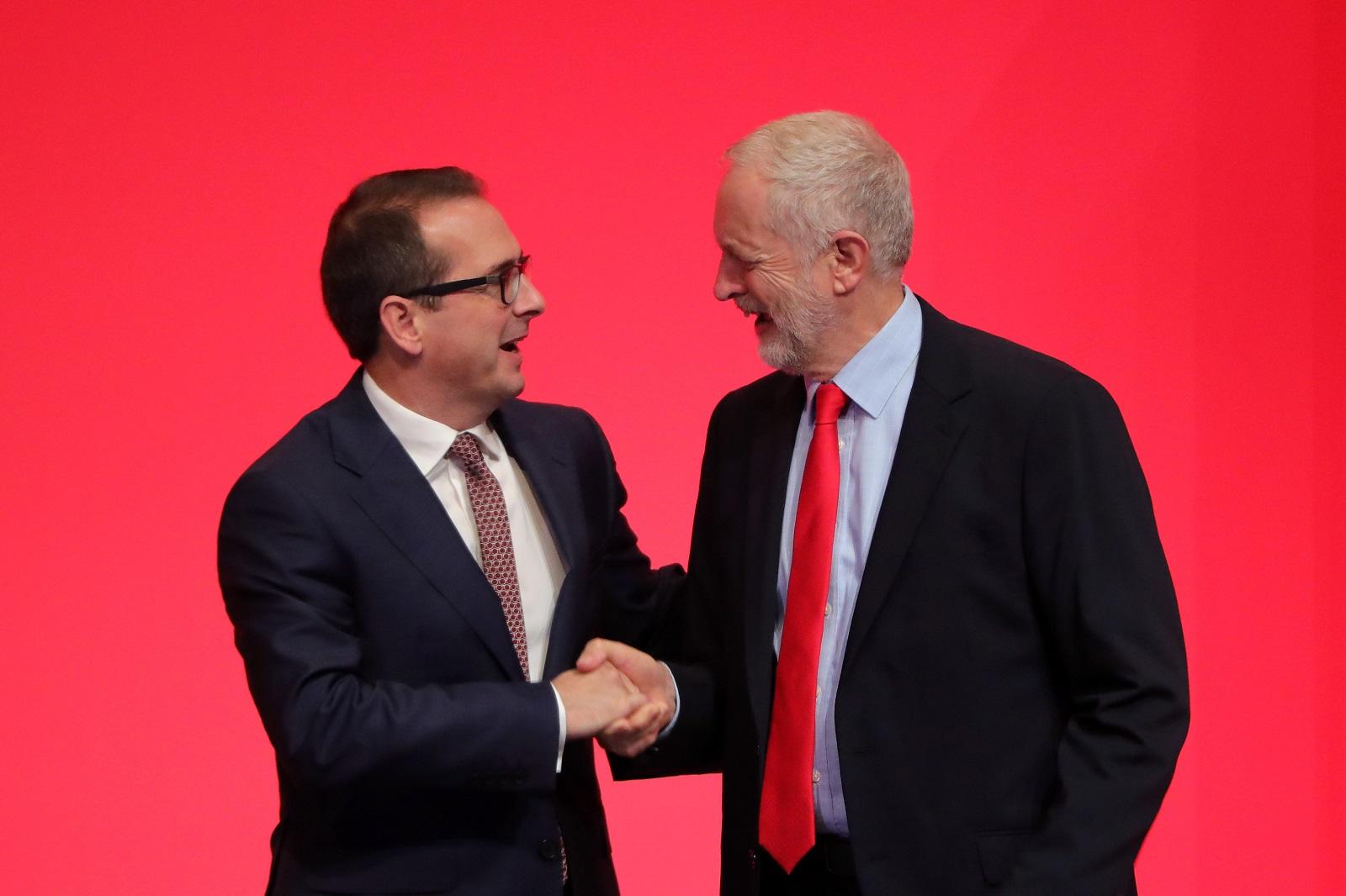 Owen Smith Jeremy Corbyn Labour leadership election