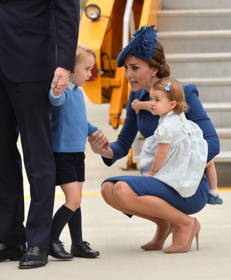 Duchess of Cambridge and kids