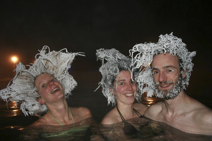 Whitehorse frozen hair competition