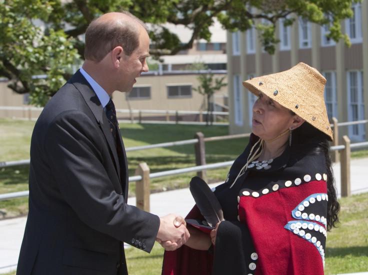 Prince Edward and Haida Gwai representative