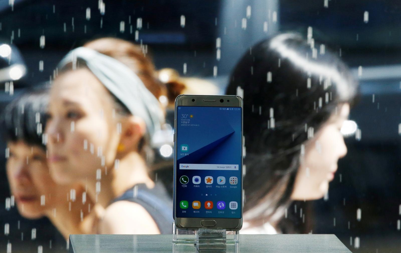 Samsung to resume Galaxy Note 7 sales