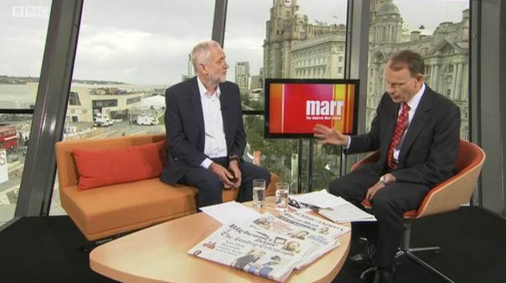 Jeremy Corbyn Andrew Marr