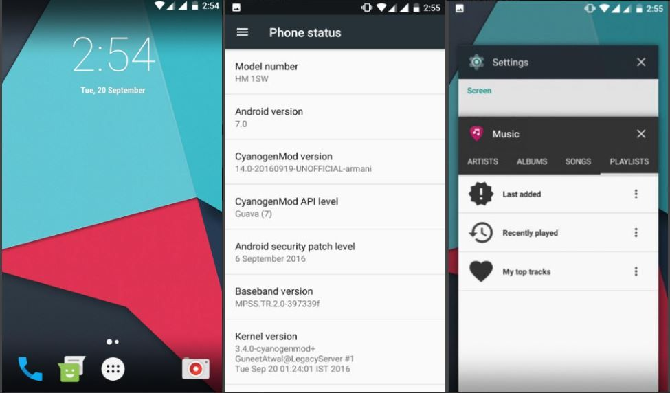 CyanogenMod 14 ROM for Redmi 1S