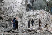Airstrikes in Aleppo