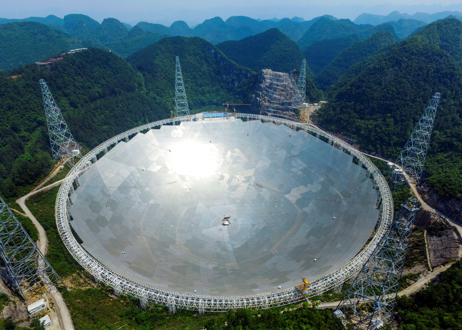 China's FAST largest radio telescope