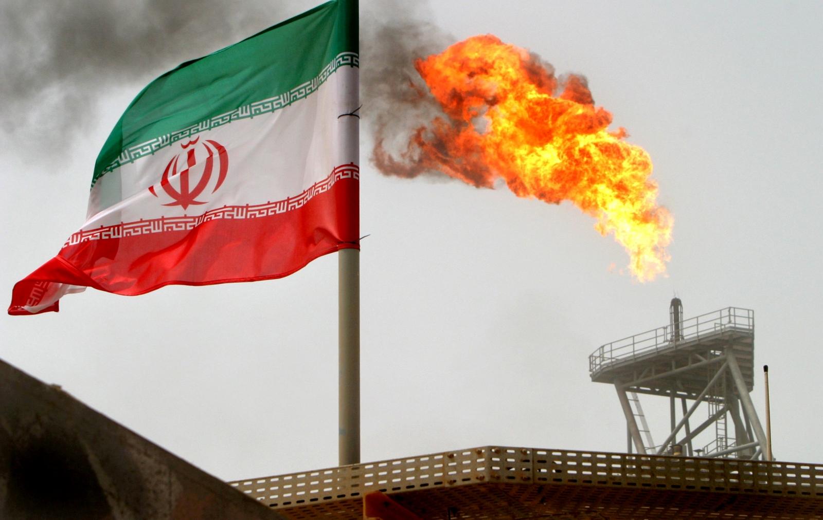 Iran gas flare