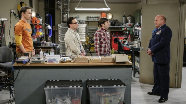 THE BIG BANG THEORY on CBS - Today, September 29, 2016
