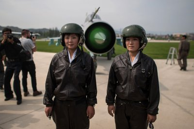 North Korea Wonsan air show