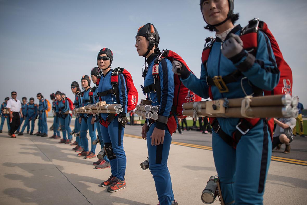 North Korea Wonsan air show