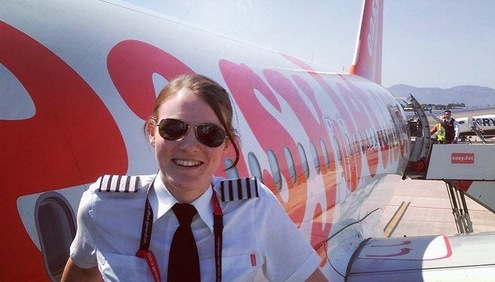 Kate McWilliams world's youngest captain