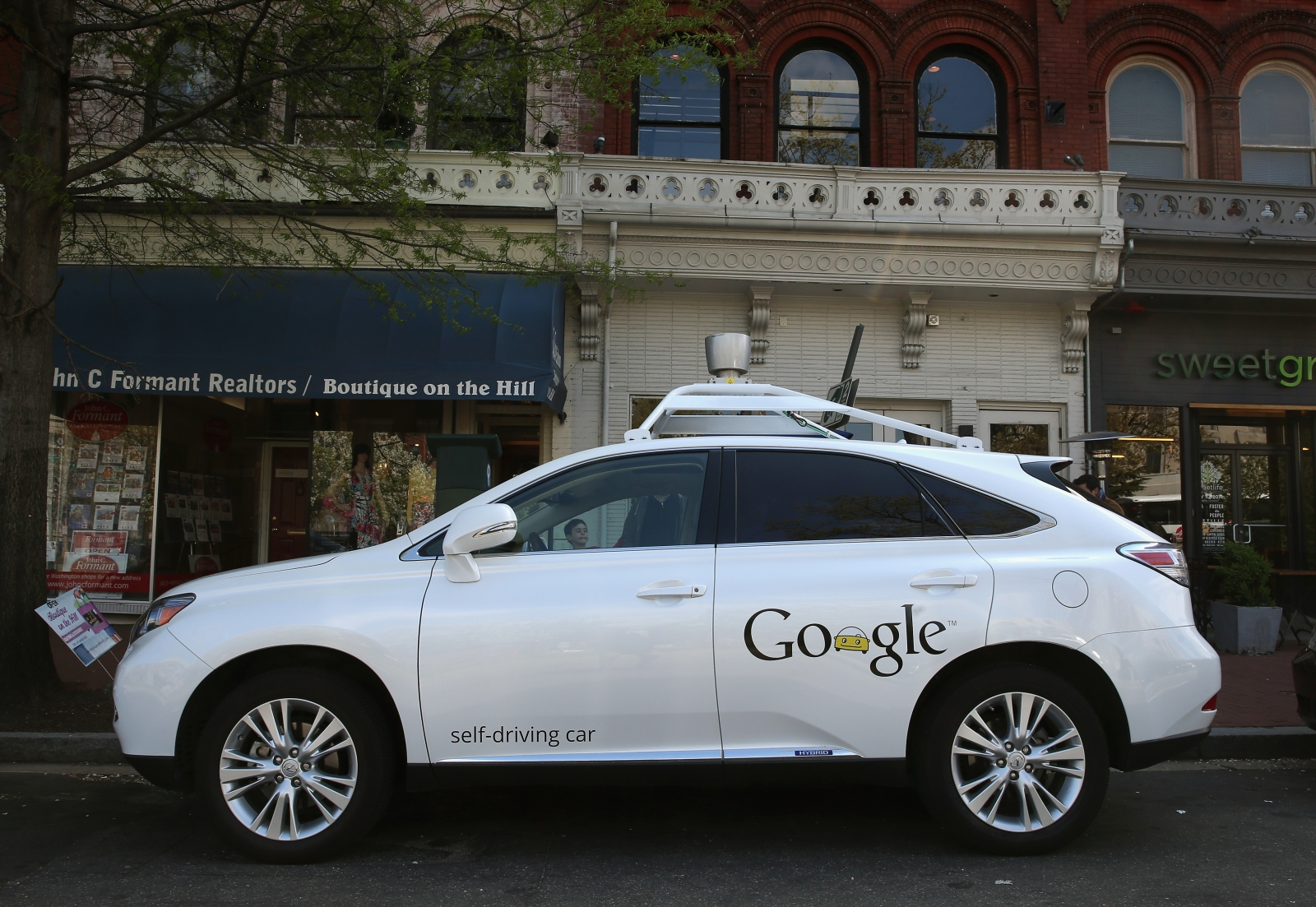 Google self-driving car accident in Mountain View